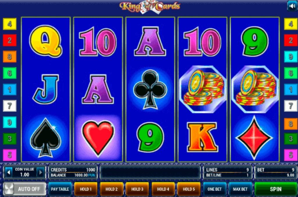 Ігровий автомат King of cards