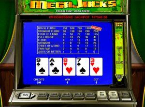 Ігровий автомат Mega jack video poker
