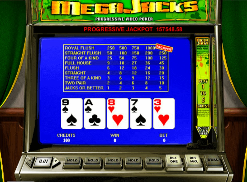 Ігровий автомат Mega jack video poker