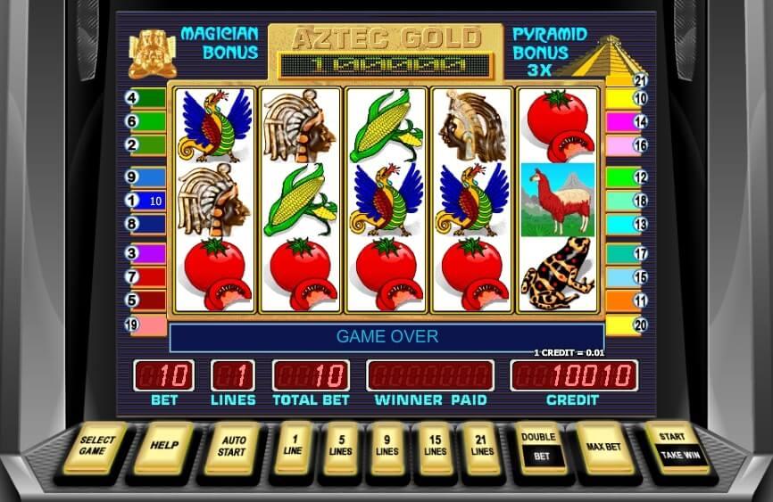 Ігровий автомат Піраміда